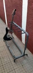 Suporte para 6 instrumentos (guitarra, baixo violão etc.)