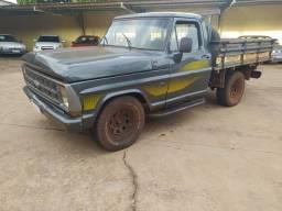 Caminhonete F1000 Motor 229 Diesel