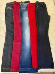 Calças jeans TAM 40