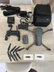 Drone Dji Mavic Pro Fly More Combo Câmera 4k Gray Cinza