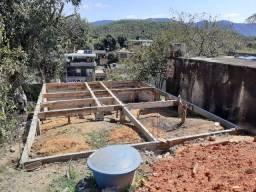 Terreno com fundação bairro Eucalipto