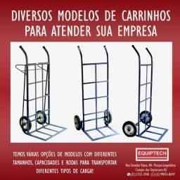 Carrinho de movimentação de carga, diversos modelos!!!