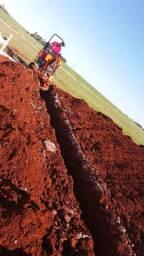 Mini escavadeira hidraulica