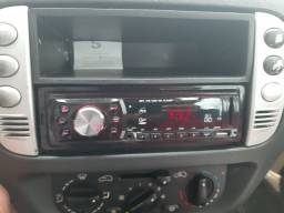 Som automotivo pen driver auxiliar rádio