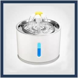 Fonte de Água Automática Para Pet com LED