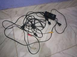 Vendo todos os cabos do PlayStation 2