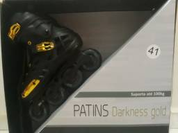 PATINS OXER DARKNESS GOLD N°41
