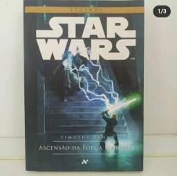 """Livro Star Wars  """" Ascenção da força sombria"""""""