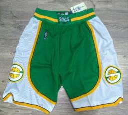 Short bermuda basquete NBA Seattle Sonics Adidas