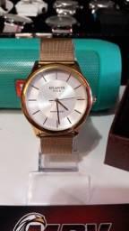 Elegantes relógios masculino à prova d'água!