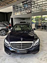 Mercedes C-180 1.6 Flex Exclusive 9G-Tronic 2018 Ipva Pago