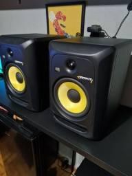 Monitor de áudio referência krk rokit 8