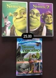 DVD Trilogia Shrek