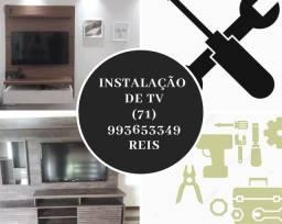 INSTALAÇÃO TV LED 4K OLED QLED
