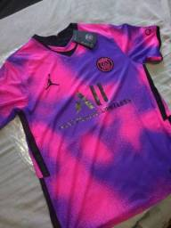 Camisa PSG 2020/21 4° uniforme, tamanho: G
