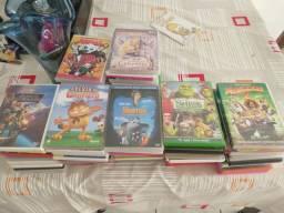 DVD infantil 70 títulos diversos - lote ou unitário