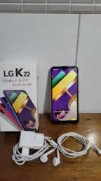 Celular LG K22 com nota fiscal