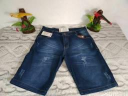 Bermuda Jean masculino