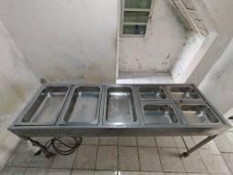 Estufa restaurante (quente)
