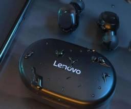 Fone de Ouvido Bluetooth 5.0 Lenovo XT91 Preto