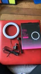 ***Promoção*** Ring Light Iluminador + Tripé De Mesa