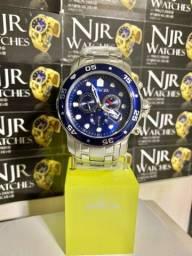 Título do anúncio: Relógio Invicta Pro diver prata novo lacrado