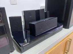 Home theater bluray Samsung netflix internet 1000w
