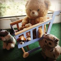Carrinho de brinquedo maderia infantil