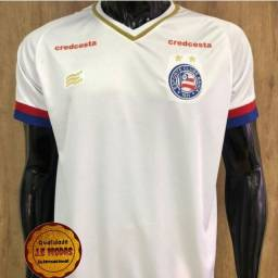 Título do anúncio: Camisa do Bahia Branca Tam. P M