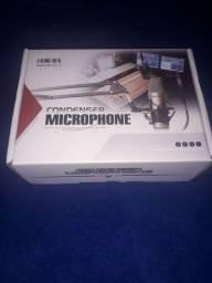 Microfone Estúdio Profissional Bm800 Condensador Phantom (Black)<br><br>