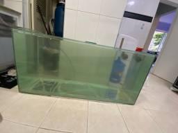 Aquairo 130x50x60 vidro 8mm