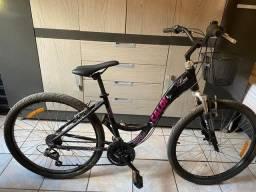 Bicicleta  Caloi Retrô em alumínio, câmbio Shimano, com nota fiscal