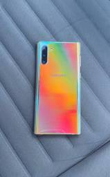 Galaxy Note 10 8/256GB com nota fiscal (Tela trincada )