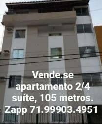 Título do anúncio: Vende.se apartamento 2/4 suíte, garagem. 240.000.00