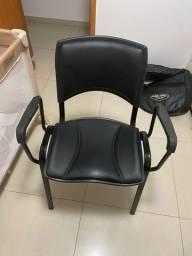 Cadeira de Escritório Fixa Iso almofadada