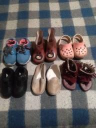 Vedo lote  sapatos infantil