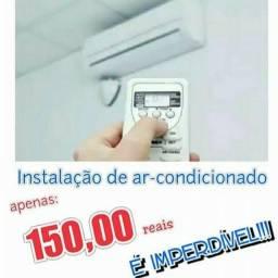 INSTALACÃO DE AR CONDICIONADO 150 PROMOÇÃO