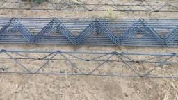 Treliça H8 p/Construção barra 6 metros