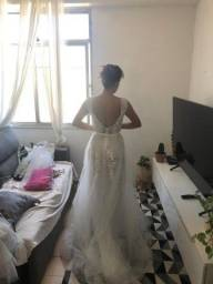Vestido de Noiva Princesa Nunca Usado Tamanho 36/38<br><br>