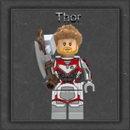 Boneco Thor Lego Minifigures