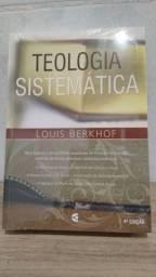 Livro teologia sistemática Louis berkhof