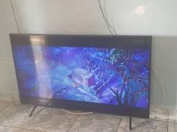 Smart tv 58 polegadas televisão enorme telão