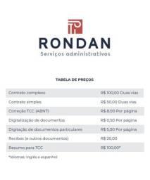RONDAN SERVIÇOS ADMINISTRATIVOS