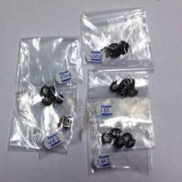 Trimpot mini deitado lote com 25 peças 5 valores diferentes