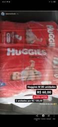 Fraldas Huggies M