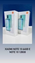 Xiaomi Note 10 4GB/64GB e Note 10 4GB/128GB