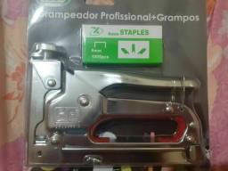 Grampeador Pinador Na Caixa