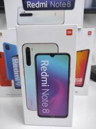 Sucesso 2021! REDMI Note 8 da Xiaomi.. NOVO COM GARANTIA e entrega Ultra Rápida!