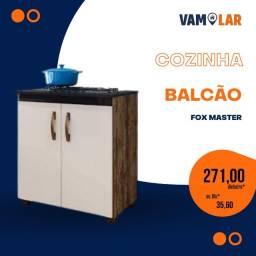 Título do anúncio: Balcão com corte para Cooktop - 4 Bocas - Frete grátis