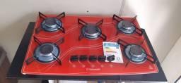 Cooktop vermelho